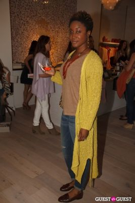 chika roulet in Calypso St. Barth's October Malibu Boutique Celebration