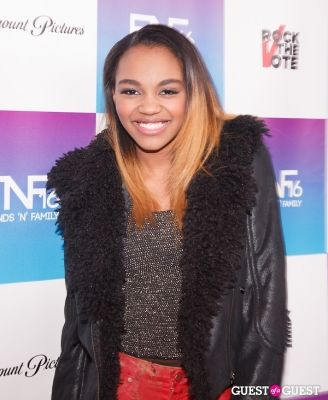 china anne-mcclain in Friends 'N' Family Pre-Grammy Party