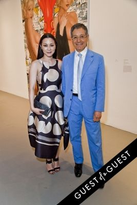 china chow in Jeff Koons: A Retrospective Opening Reception