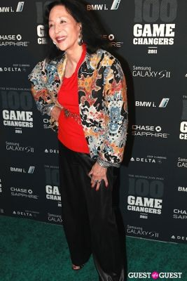 china mochado in 2011 Huffington Post and Game Changers Award Ceremony