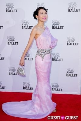 chiu ti-jensen in New York City Ballet's Fall Gala