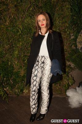 chloe morello in NYC Fashion Week FW 14 Street Style Day 5