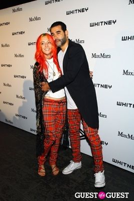 harif guzman in 2013 Whitney Art Party