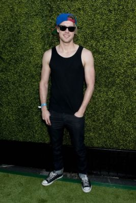 chord overstreet in Just Jared's Summer Kick-Off Party Presented By McDonald's