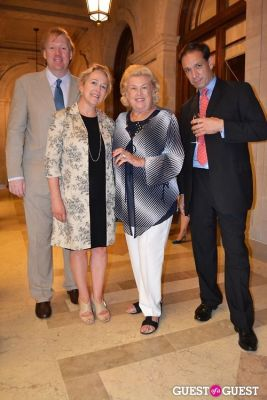 lisa banner in The Frick Collection's Summer Soiree