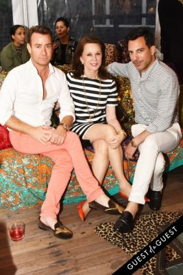 chris leavitt in Alice + Olivia Montauk Beach BBQ