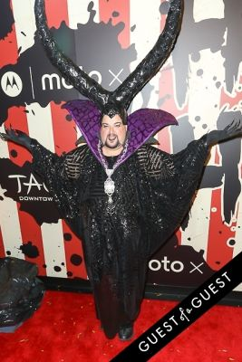 chris march in Heidi Klum's 15th Annual Halloween Party