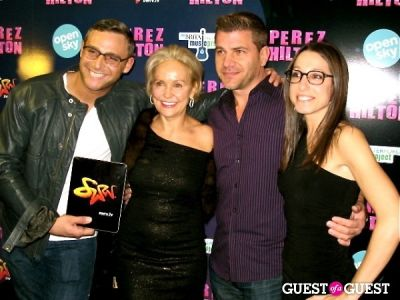 kim granatell in Perez Hilton's One Night in NYC /Open Sky Project
