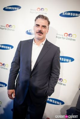 chris north in Samsung Hope For Children Gala 2013