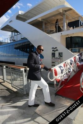 chris rogers in Hornblower Re-Dedication & Christening at South Seaport's Pier 15