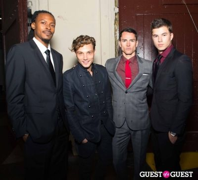 chase mattson in L.A. Fashion Weekend Awards
