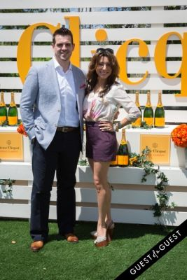 lili gil-valletta in Veuve Clicquot Polo Classic 2014