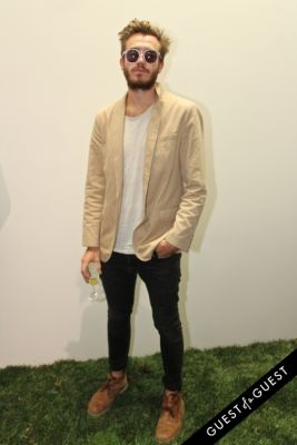 chris white in NYFW Style From the Tents: Street Style Day 2