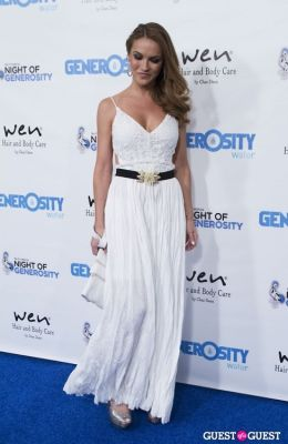 chrishell stause in Generosity Water Presents