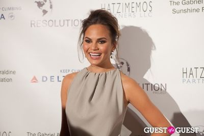 chrissy teigen in The Resolution Project Annual Resolve Gala