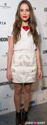 christa b.-allen in British Fashion Council Present: LONDON Show ROOMS LA Cocktail Party