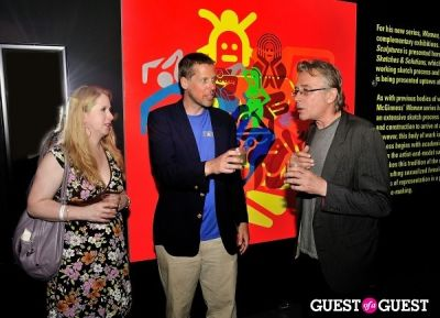 christian damgaard in FLATT Magazine Closing Party for Ryan McGinness at Charles Bank Gallery