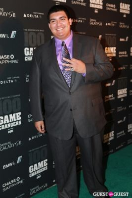 christian lopez in 2011 Huffington Post and Game Changers Award Ceremony
