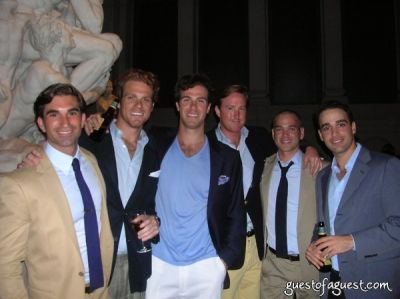 christian russell in Metropolitan Museum of Art's Young Members Summer Party