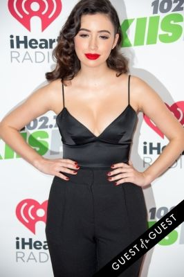 christian serratos in KIIS FM's Jingle Ball 2014