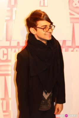 christian siriano in MAC Viva Glam Launch with Nicki Minaj and Ricky Martin