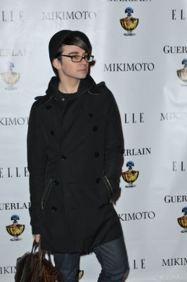 christian siriano in Mean to Me Premiere starring Agyness Deyn