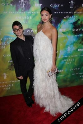 christian siriano in Fragrance Foundation Awards 2014