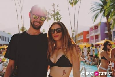 christina berardi in Coachella: DJ Harvey Presents Cool in The Pool at The Saguaro Desert Weekender (Hosted by 47 Brand, Reyka Vodka, Core Power Yoga, & Hornitos)