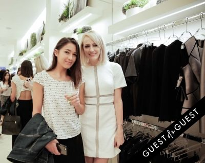 christina chi-craig in Tadashi Shoji South Coast Plaza Re-Opening