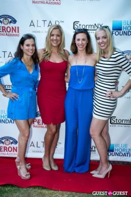 emily selinger in Blue Horizon Foundation Polo Hospitality Tent Event