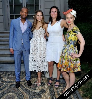 christina eberli in Frick Collection Flaming June 2015 Spring Garden Party