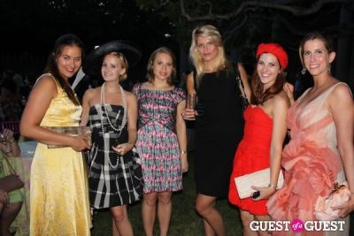 christina eberli in The Frick Collection's Summer Garden Party