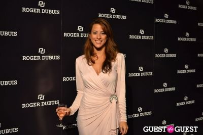 christine in Roger Dubuis Launches La Monégasque Collection - Monaco Gambling Night
