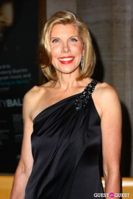 christine baranski in metropolitan opera opening night 2010