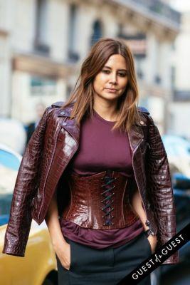 christine centenera in Paris Fashion Week Pt 2