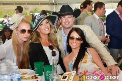 christine dingivan in Becky's Fund Gold Cup Tent 2013