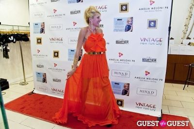 christine krivosheiow in Mina D Holiday Glamour Party