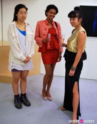 kim ye in OHWOW Miami Opening Reception for IT AIN'T FAIR