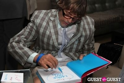 christopher makos in Lance Out Loud Book Launch