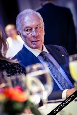 christopher plummer in Autism Speaks Chefs Gala