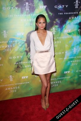 christy teigen in Fragrance Foundation Awards 2014