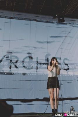 chvrches in Coachella 2014 Weekend 2 - Saturday