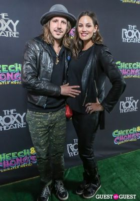 barbara adler in Green Carpet Premiere of Cheech & Chong's Animated Movie