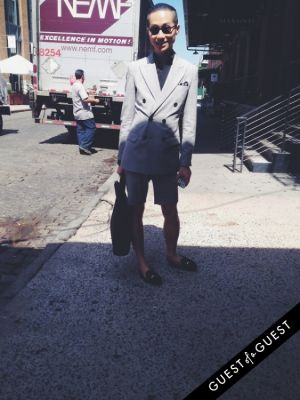 clément zheng in Summer 2014 NYC Street Style