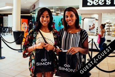mya clark in Back-to-School and the ABC's of Style with Teen Vogue and The Shops at Montebello