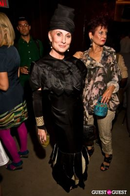 claudia byrdine in Advanced Style Party