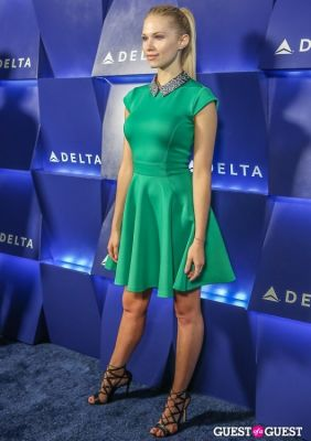 claudia lee in Delta Air Lines Hosts Summer Celebration in Beverly Hills