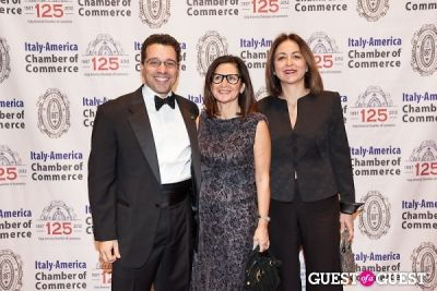 laura aghilarre in Italy America CC 125th Anniversary Gala