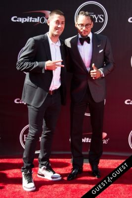 jermaine jones in The 2014 ESPYS at the Nokia Theatre L.A. LIVE - Red Carpet