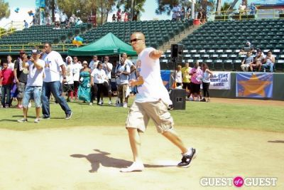 coby bell in 3rd Annual All-Star Kickball Game Benefiting Rising Stars of America